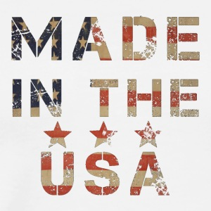 Made in USA Flagstyle - Men's Premium T-Shirt
