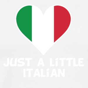 Just A Little Italian - Men's Premium T-Shirt