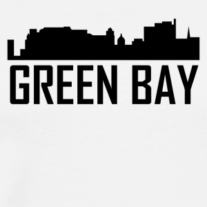 Green Bay Wisconsin City Skyline - Men's Premium T-Shirt