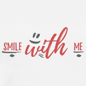 smile with me - Men's Premium T-Shirt