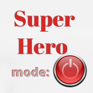 Super hero mode off - Men's Premium T-Shirt