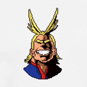All Might Pixel - Men's Premium T-Shirt