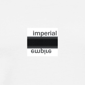 IMPERIAL - Box Logo - Men's Premium T-Shirt