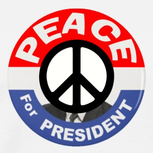 Peace For President - Men's Premium T-Shirt