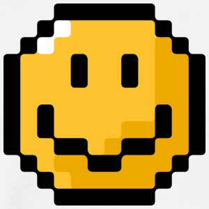 SmileyWorld Pixel Smiley - Men's Premium T-Shirt