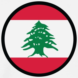 Under The Sign Of Lebanon - Men's Premium T-Shirt