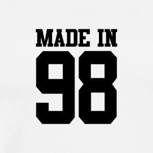 Birthday Made in 98. Birth Year 1998. T-Shirt - Men's Premium T-Shirt