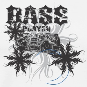 Bass player Boom Box - Men's Premium T-Shirt