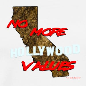 No More Hollywood Values* - Men's Premium T-Shirt