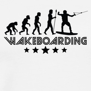 Retro Wakeboarding Evolution - Men's Premium T-Shirt