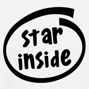 star inside (1801A) - Men's Premium T-Shirt