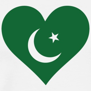 A Heart For Pakistan - Men's Premium T-Shirt