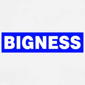 BIGNESS Blue - Men's Premium T-Shirt