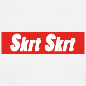 SKRT BOX LOGO - Men's Premium T-Shirt