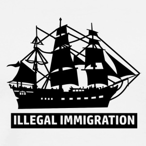 Illegal Immigrant designs - Men's Premium T-Shirt