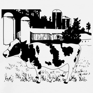 cow122 - Men's Premium T-Shirt