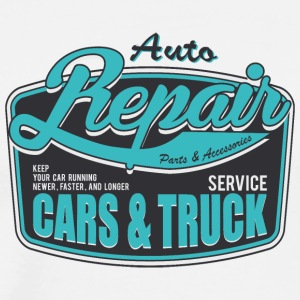 inscription-auto-cars-truck-service - Men's Premium T-Shirt