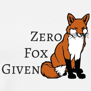 Zero Fox Given two - Men's Premium T-Shirt