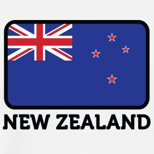 National Flag Of New Zealand - Men's Premium T-Shirt