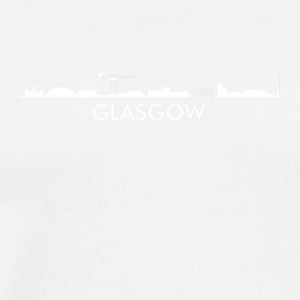 Glasgow Scotland Skyline - Men's Premium T-Shirt