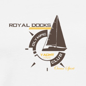 Royal docks - Yacht club - Men's Premium T-Shirt