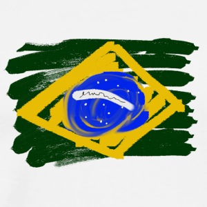 Brazilian Flag - Men's Premium T-Shirt