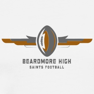 BEARDMORE HIGH SAINTS FOOTBALL - Men's Premium T-Shirt