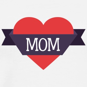 mom_heart - Men's Premium T-Shirt