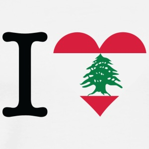 I Love Lebanon - Men's Premium T-Shirt