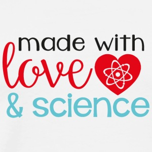 made with love & science - Men's Premium T-Shirt