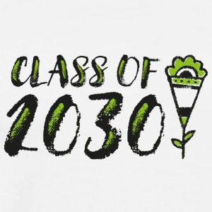 Class of 2030 - Future Graduation Shirts (bl/gr) - Men's Premium T-Shirt