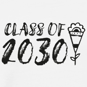 Class of 2030 - Future Graduation Shirts (bl/wh) - Men's Premium T-Shirt