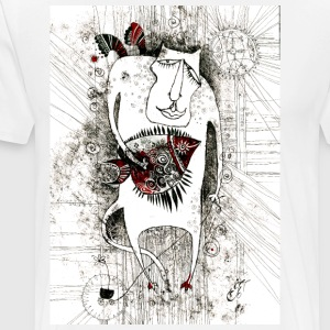 Сat angel - Men's Premium T-Shirt