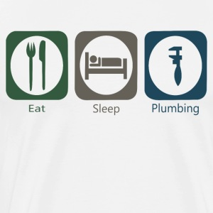 Eat Sleep Plumbing - Men's Premium T-Shirt