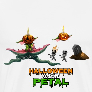 halloween with petal - Men's Premium T-Shirt