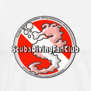 Diving Logo 2 - Men's Premium T-Shirt