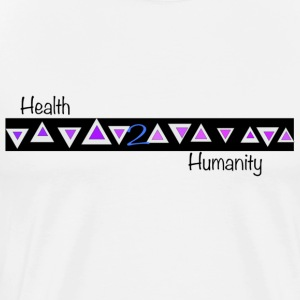 Health 2 Humanity - Men's Premium T-Shirt