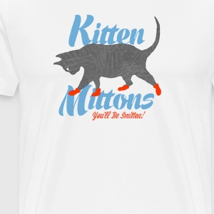 Kitten Mittons - Men's Premium T-Shirt