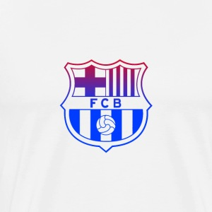 barca kit 2017 vectorized - Men's Premium T-Shirt