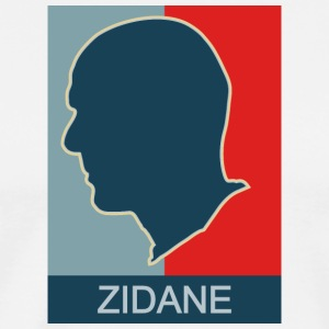 ZIDANE (COACH REAL MADRID) - Men's Premium T-Shirt