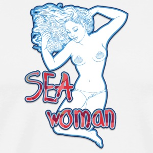 SEA_woman - Men's Premium T-Shirt