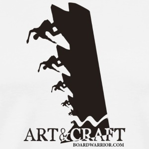 Art and Craft Vert Wall Edition - Men's Premium T-Shirt
