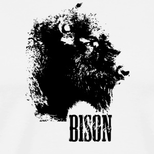 bison tshirt - Men's Premium T-Shirt