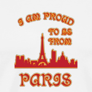 I am proud to be from pARIS I am proud to be from - Men's Premium T-Shirt