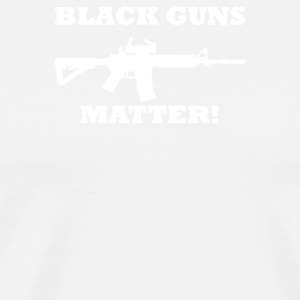 Details about Black Guns Matter - Men's Premium T-Shirt