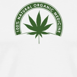 100 Natural Organic Medicine - Men's Premium T-Shirt