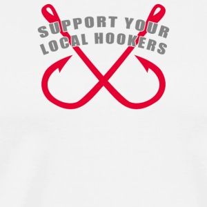 Support Hookers - Men's Premium T-Shirt