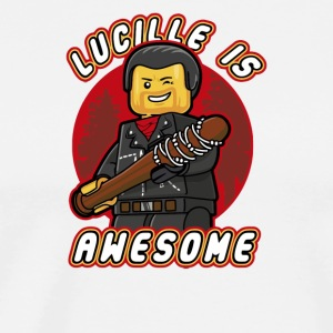 LUCILLE IS AWESOME - Men's Premium T-Shirt