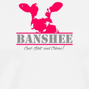 Banshee Cow Shit And Crime - Men's Premium T-Shirt