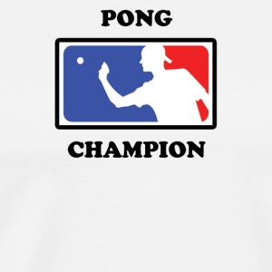 Beer Pong Champ - Men's Premium T-Shirt
